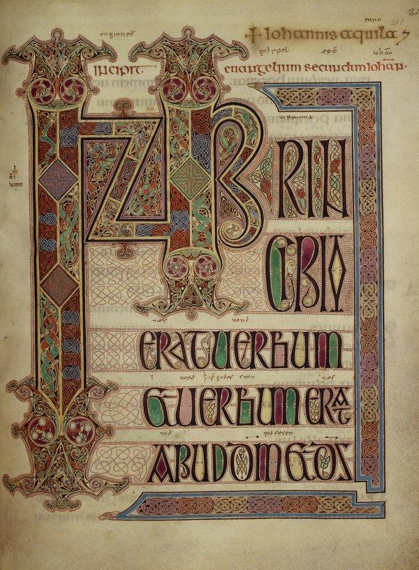 Lindisfarne Gospel of John