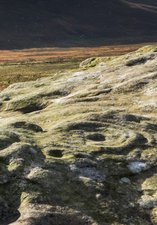 Image of rock art at lordenshaws