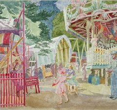 Thérèse Lessore, The Fair at Bath