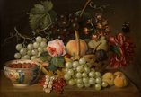 T. Voss, 'Flowers and Fruit Study'