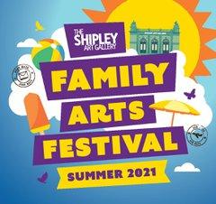 Family Arts Festival banner