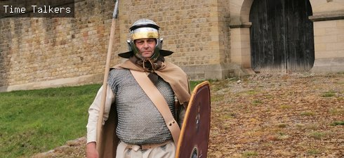 Roman Soldier at Arbeia Westgate