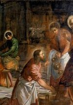 Tintoretto's Christ Washing the Disciples' Feet