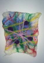 Textiles with Felt Making