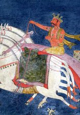 Surya on his Chariot