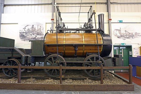 George Stephenson's early locomotive 'Killingworth Billy'