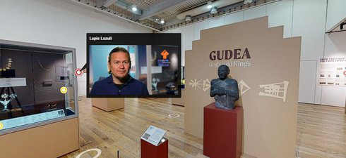 Screenshot of a museum virtual tour