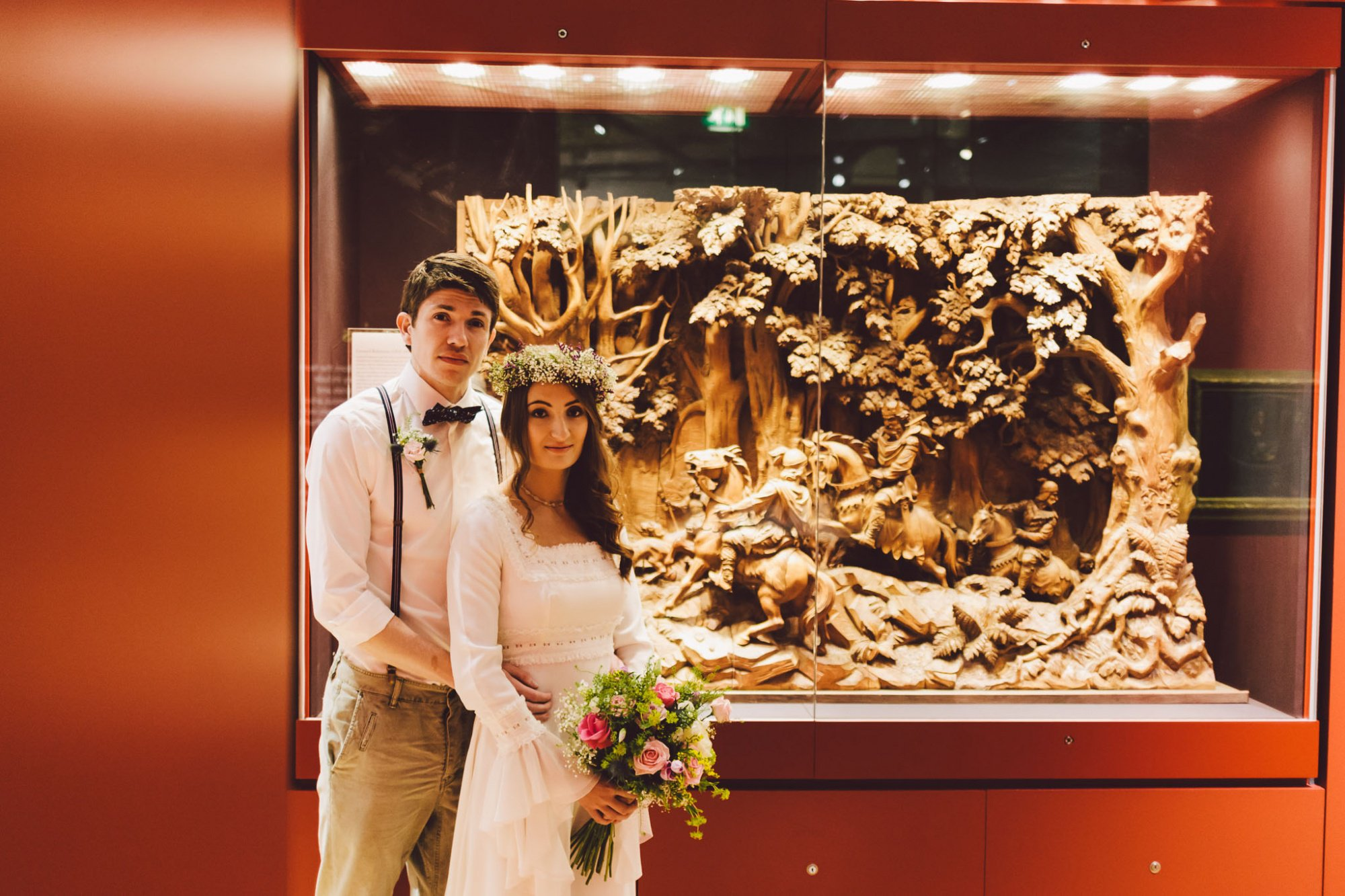 Laing Art Gallery wedding photograph by Barry Forshaw