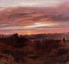 Solitude by John martin