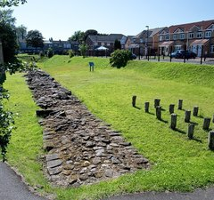 Newly conserved stretch of Hadrian's Wall
