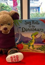 Hello to the Dinos storytime