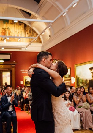 A wedding at the Laing Art Gallery