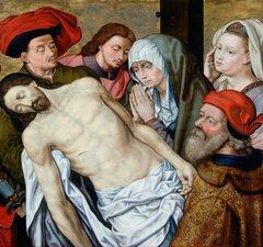 The Lamentation After van der Goes