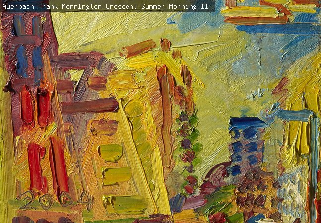 Auerbach, Frank, Mornington Crescent, Summer Morning II