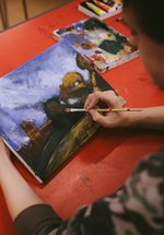 Saturday Art Classes for 10-15 year olds