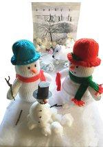 Sheila's Mini Mewseum Show - Family Holiday Snowman Activity