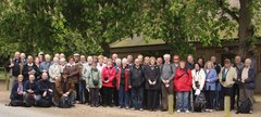 A photograph of the members of South Shields Digital Group on an outing to Thorp Perrow