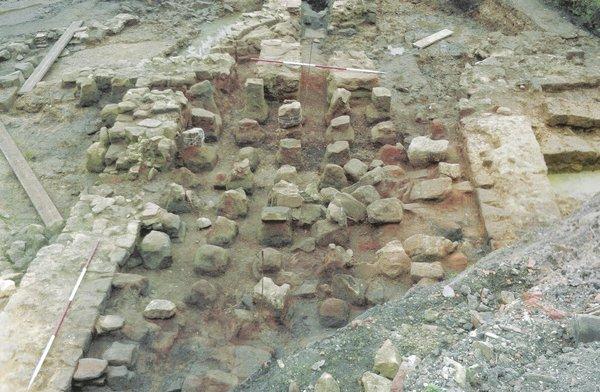 Original Roman baths