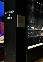 Crystals and Gems Display