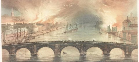 Discovery Museum Local History - The Great Fire of Newcastle and Gateshead