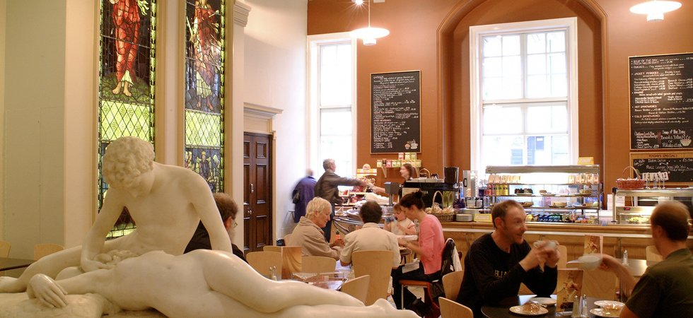 Laing Art Gallery cafe