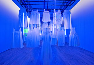 Out of the Blue installation