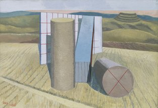 Equivalents for the Megaliths ,1935 by Paul Nash © Tate, London 2015