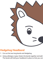Hedgehog Headband