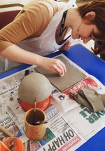 Christmas oil burner workshop