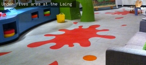 Under fives' area at the Laing