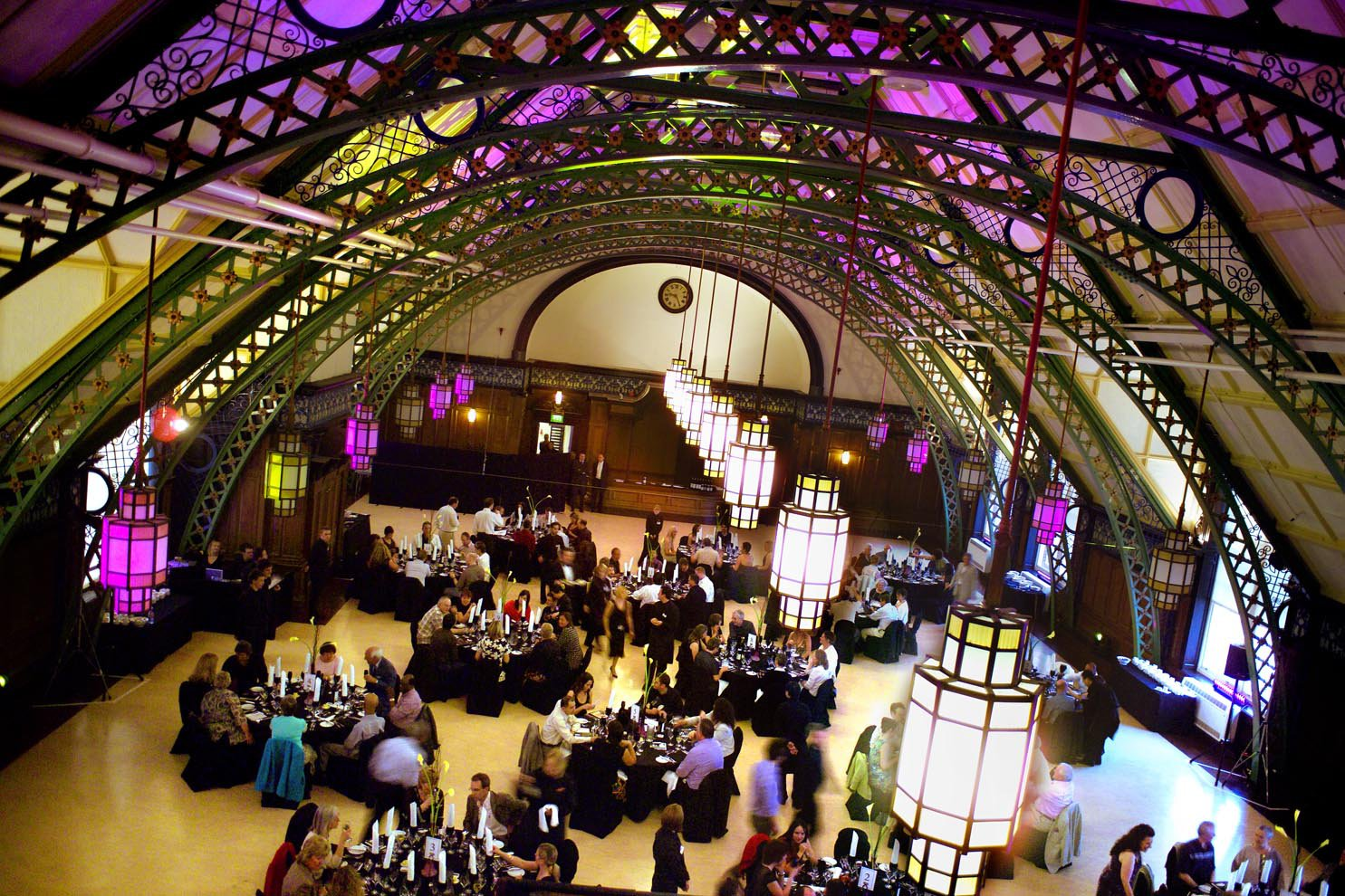 Corporate dinner event in the magnificent Great Hall