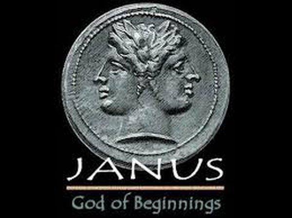 Janus, the God of beginnings