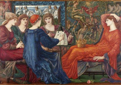 Laus Veneris by Edward Burne Jones