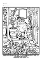 The Laing Art Gallery at home - colouring sheets