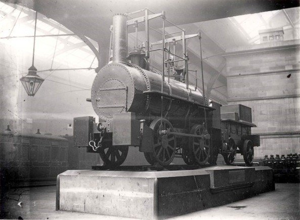 George Stephenson's early locomotive 'Killingworth Billy'