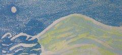 A print of a seaside scene