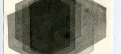 PEER I, 2012 Carbon and casein on paper 112.1 x 76.5cm © Antony Gormley Courtesy White Cube