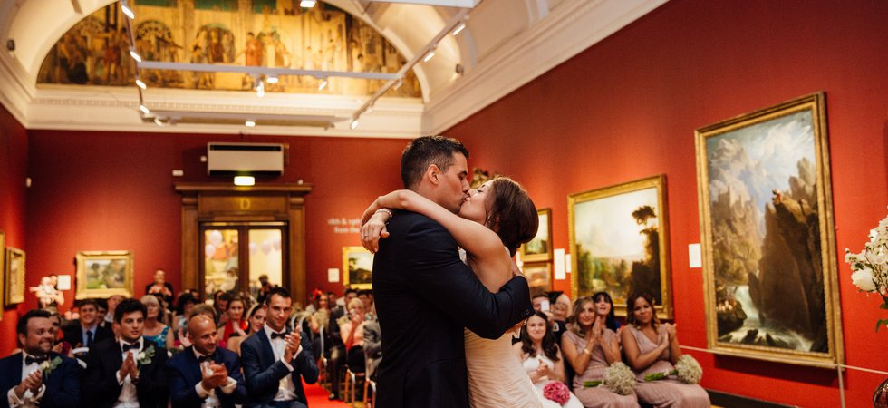 Wedding at the Laing Art Gallery