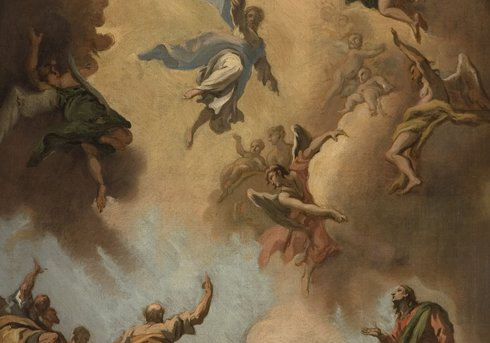 The Ascension of Christ', by the artist Sebastiano Ricci