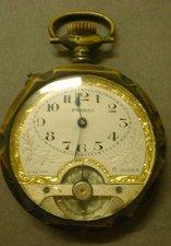 a vintage pocket watch