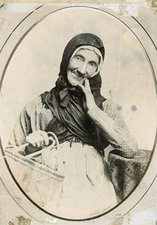Dolly Peel - photo of mature fishwife early 19C