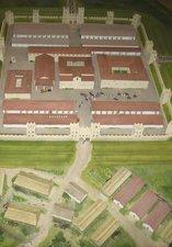 Segedunum Fort model