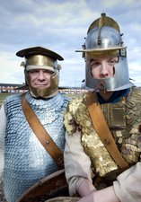 two Roman soldiers