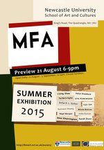 Master of Fine Art Summer Exhibition