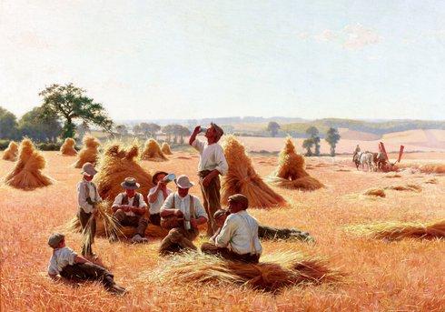 harvester's resting