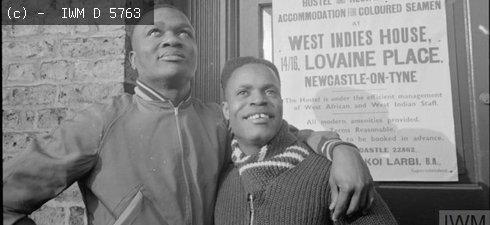 West Indian seamen in Newcastle 1941
