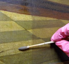 Conserving a painting
