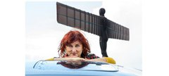 Jeremy Abrahams - Irena Mujacic at the Angel of the North