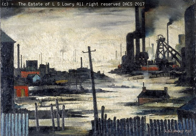 Painting by L.S Lowry