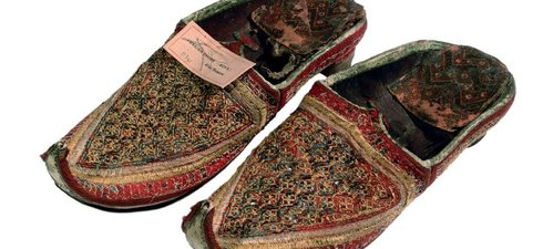 Shoes from the ethnographic collection